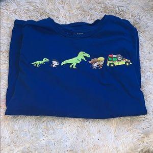 Jurassic Park babies T-shirt